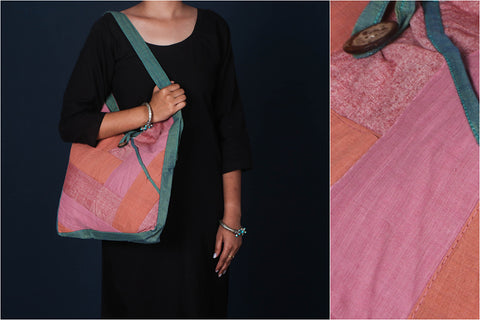 Jugaad Patchwork Cotton Shoulder Bag