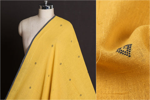 Organic Kala Cotton Pure Handloom Buti Fabric