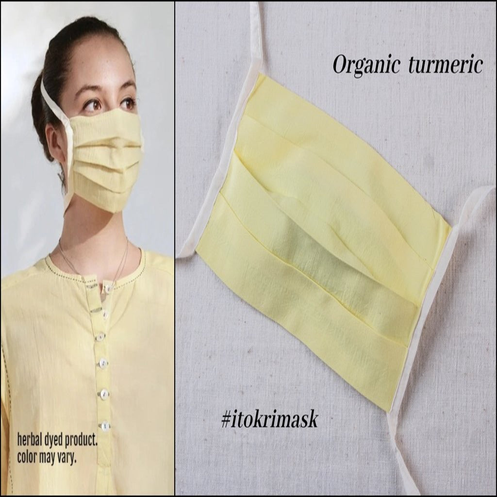 Upasana Organic Neem Mask With Rope - Turmeric