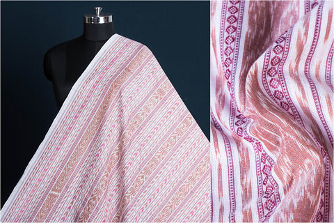 Handloom Sambalpuri Ikat Dubi Cotton Fabric
