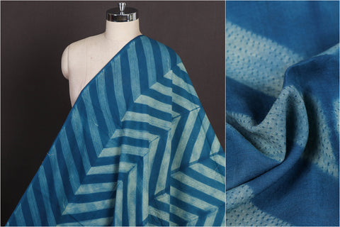 Nui Shibori Tie-Dye Pure Cotton Fabric
