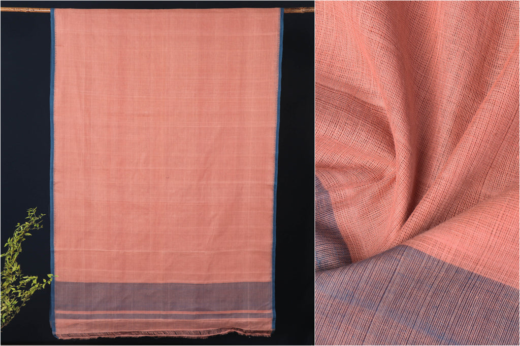 Srikakulam Natural Dyed Handloom Cotton Saree by DAMA