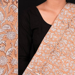 Sanganeri Hand Block Printed Cotton Fabric