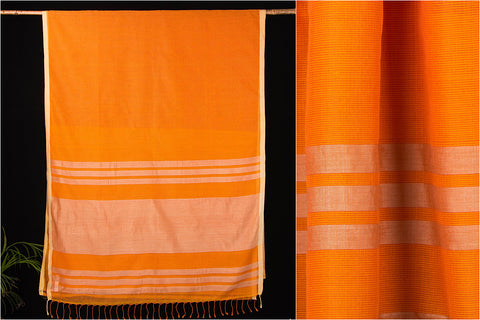 Phulia Bengal Handwoven Silk Cotton Kota Doria Saree