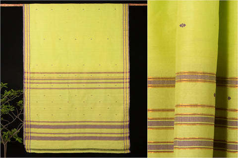 Godavari Dhara Cotton zari Saree with Blouse by DAMA