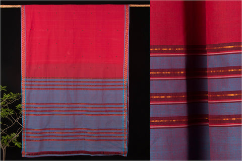 Godavari Keratam Cotton zari Saree with Blouse by DAMA
