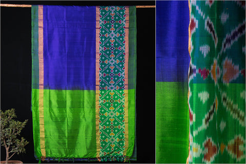 Uppada Pattu Pure Silk Pochampally Ikkat Handloom Saree
