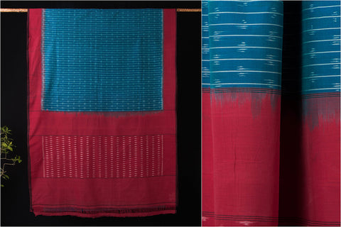 Pochampally Handloom Ikat Cotton Saree by Abhihaara