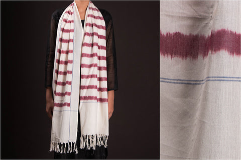 Pochampally Ikat Pure Cotton Handloom Stole