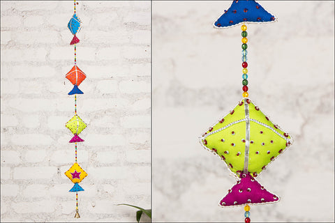 Indian Kites Hanging with Bell by SASHA