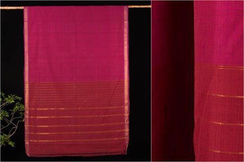 Godavari Bharani Cotton Saree with Blouse by DAMA