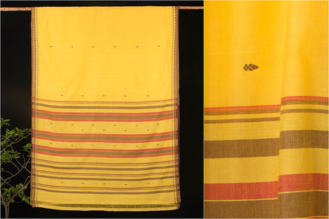 Godavari Kalasam Cotton Saree with Blouse by DAMA