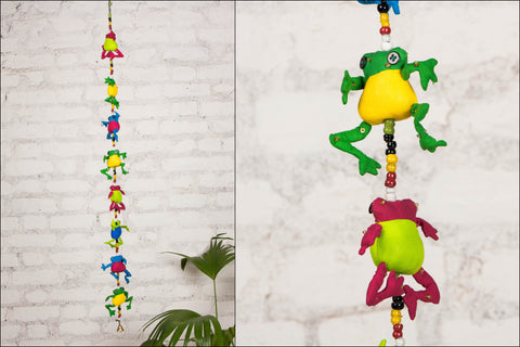 Frog Hanging by SASHA