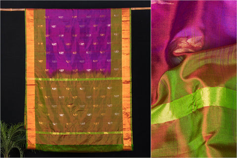 Uppada Pattu Silk Buta Pure Handloom Saree
