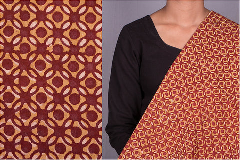 Pipad Block Print Cotton Fabric by Chhipa Azhar