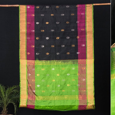 Uppada Pattu Silk Pure Handloom Saree