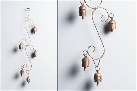 Kutch Copper Coated Double Sapmell 5 Bell