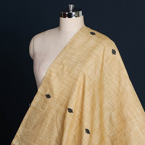 Handwoven Pure Ghisa Muga Silk Buti Fabric from Assam