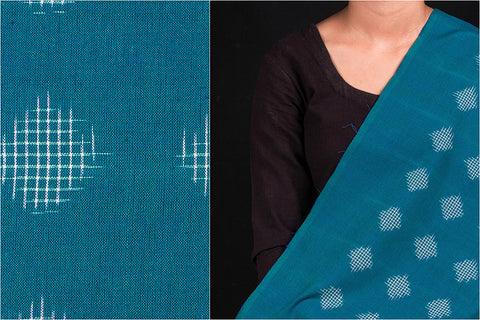 Special Pure Handwoven Pochampally Ikat Cotton Fabric