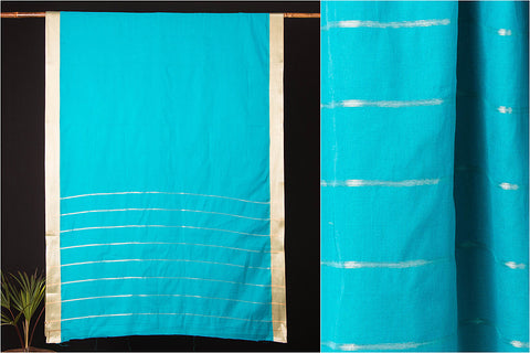 Narayanpet Cotton Intricately Woven Zari Border Handloom Saree