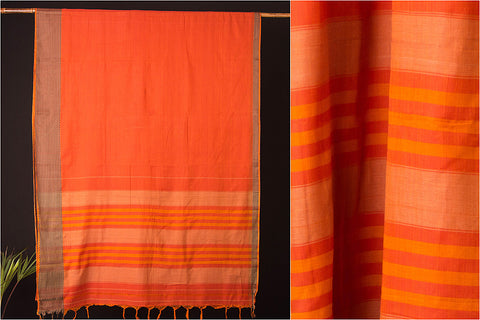 Narayanpet Cotton Dobby Border Handloom Saree
