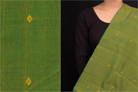 Special Cotton Handloom Mercerized Buti Fabric