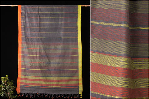 Ballakami Cotton Handloom Saree with Blouse