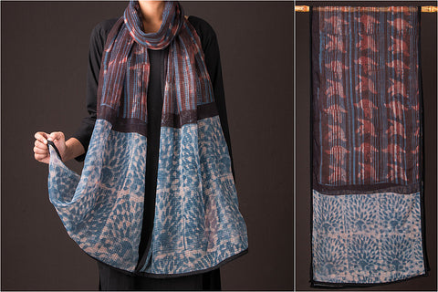 Bindaas Print Kota Doria Cotton Stole