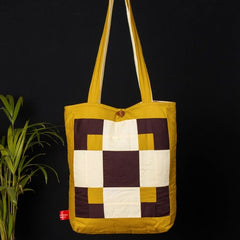 Patchwork Quilted Cotton Reflections Shoulder Bag