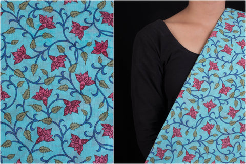 Jaipur Screen Printed Cotton Fabric