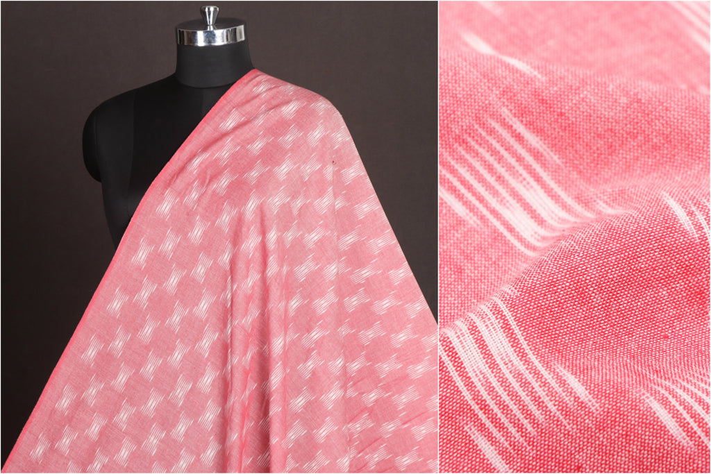 Pochampally Double Ikat Pure Handloom Cotton Fabric