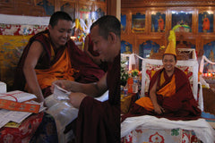 One Day With Rinpoche - by Ritu Sarin and Tenzing Sonam