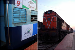 Jagriti Express - by Samina Mishra