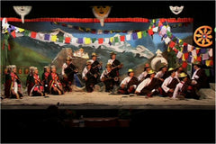Tibetan Institute of Performing Arts - by Nidhi Tuli and Ashraf Abbas