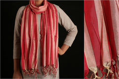 Maheshwari Silk-Cotton Stole