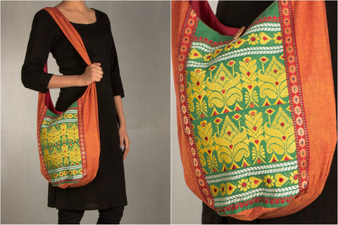 Handwoven Assam jhola Bag by Manjuri