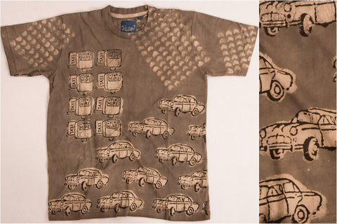 (Size - L) Bindaas Print Cotton Unisex T-Shirt