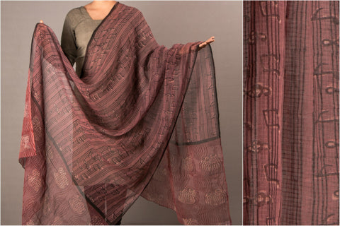 Bindaas Print Kota Doria Cotton Dupatta