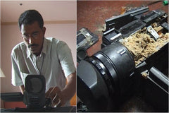My Camera And Tsunami - by R. V. Ramani