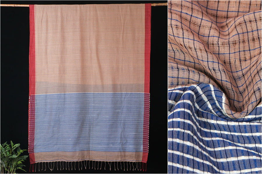 Phulia Bengal Handwoven Kota Cotton Saree