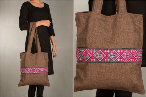Handwoven Assam Hand bag by Manjuri