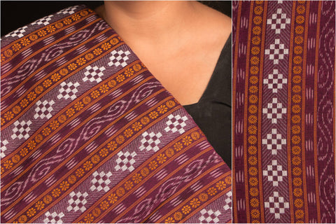 Special Sambalpuri Double Ikat Handloom Cotton Fabric