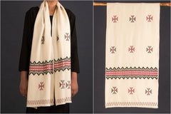 Tribal Toda Hand Embroidery Stole