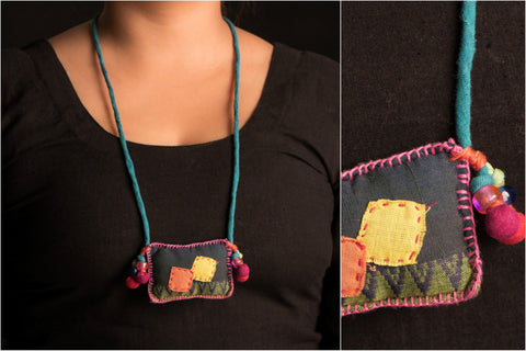 Special Zari Necklace by Jugaad