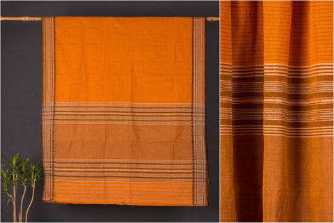 Begumpuri Check Handloom Cotton Saree
