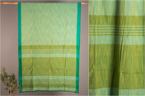 Linen Cotton Saree from Phulia by Ramanand Basak