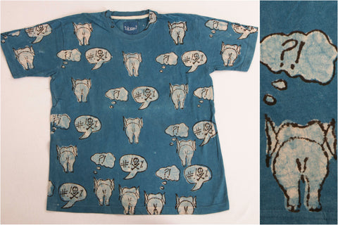 (Size - XXL) Bindaas Print Cotton Unisex T-Shirt