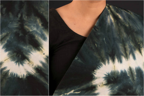Tie -Dye Printed Combed Cotton Fabric