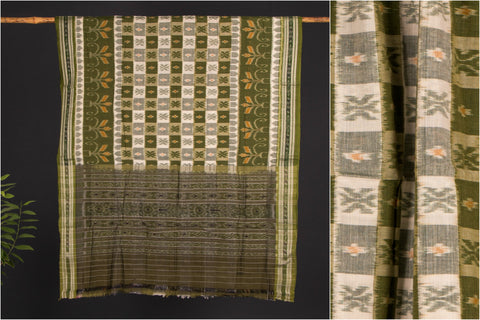 Sambalpuri Ikat Handloom Cotton Saree