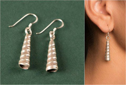 Designer Hilly Sterling Silver Earring